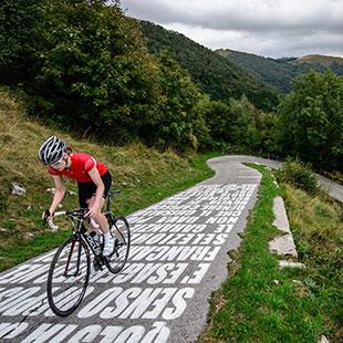D'Erba à la piste cyclable la plus ardue du monde