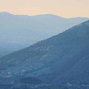Depuis Fiuggi à la conquête du Mont Scalambra